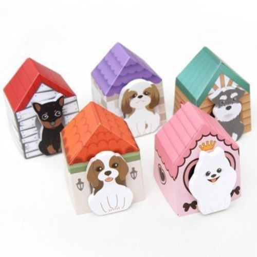 Mini Puppy House Sticky Note Set