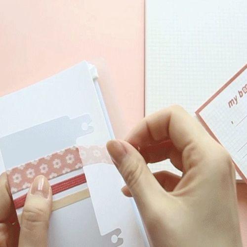 Release Paper Sticker Book