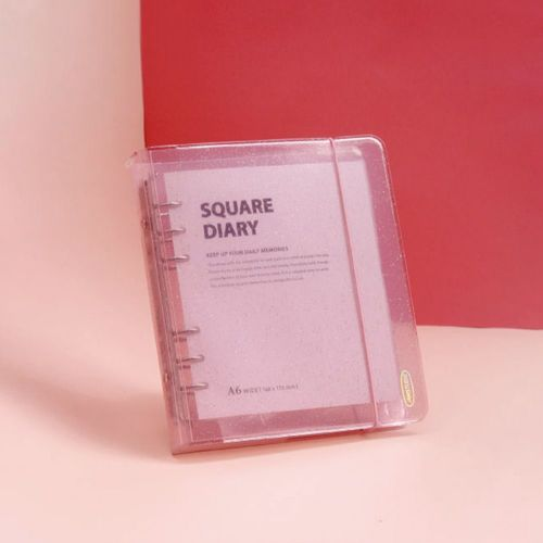 Square 6 Ring A6 Wide Planner