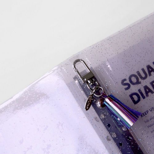 Square 6 Ring A6 Wide Binder