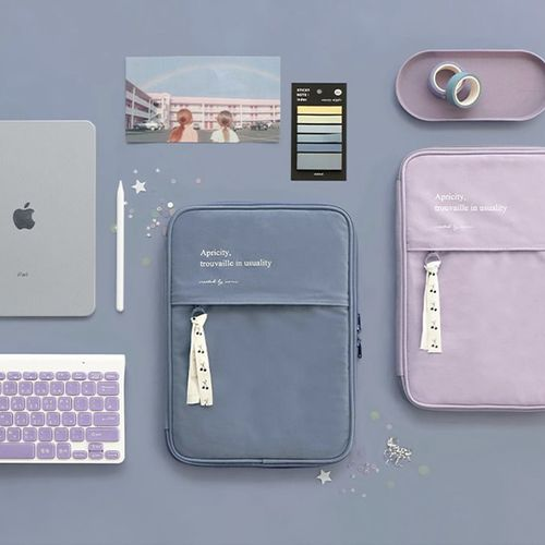 Apricity Cotton iPad Pouch