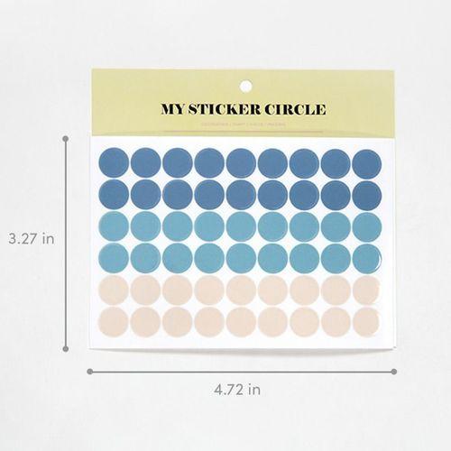 My Circle Deco Sticker