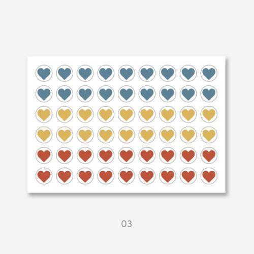 My Heart Deco Sticker