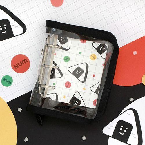 Mini Dalcom 3 Ring Zipper Binder + Note Set