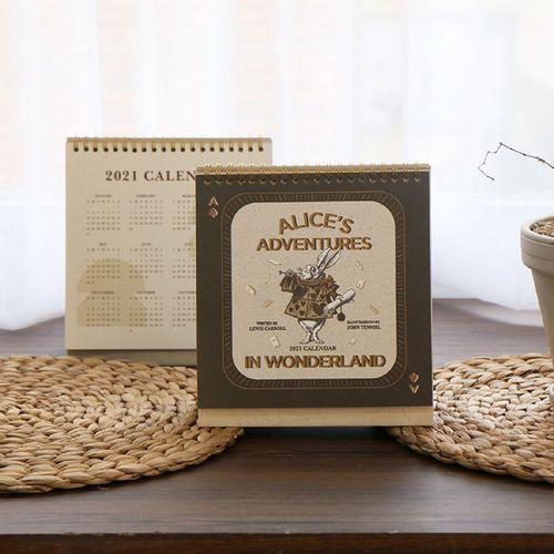 2021 Alice in Wonderland Calendar