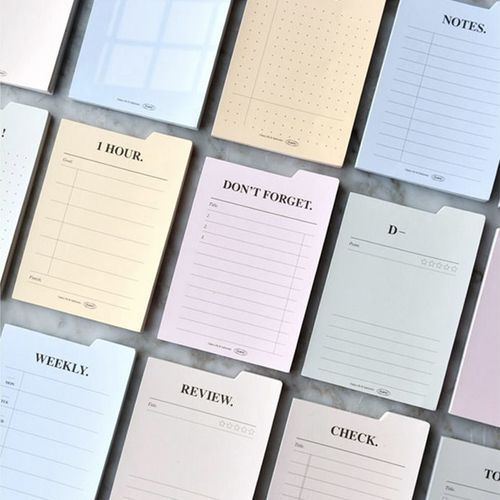 Themed Index Sticky Note