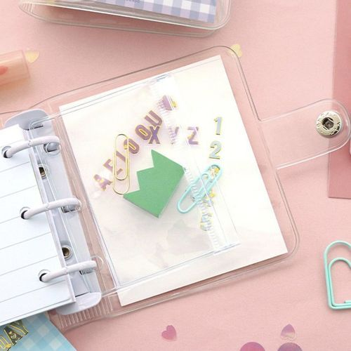 Merry 3 Ring Button Binder + Note Set
