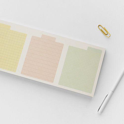Pastel Archiving Memo Pad