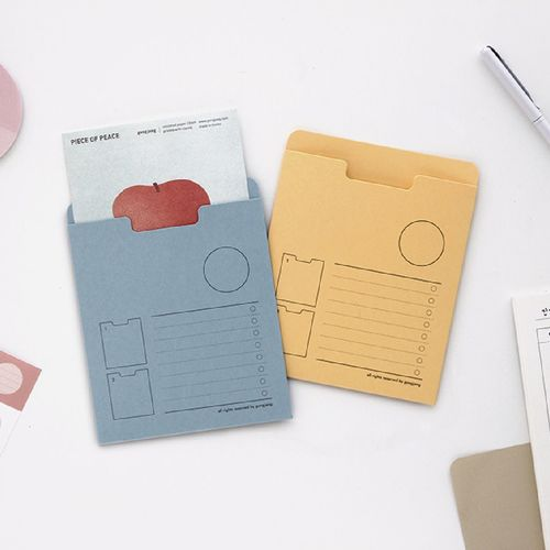 Small Colorful Archiving Pocket Holder