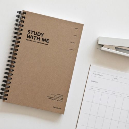 Study With Me Planner