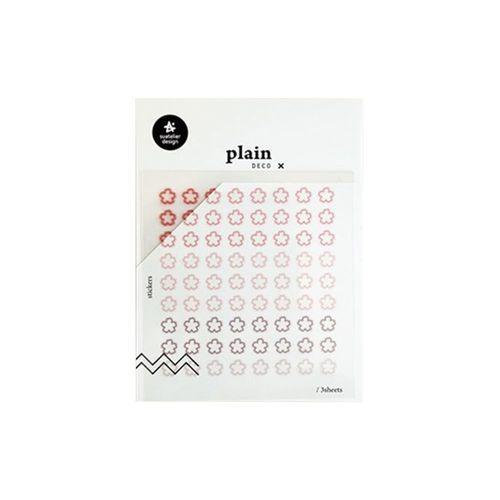 Plain Deco Sticker v61