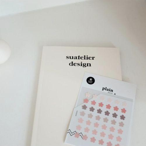 Plain Deco Sticker v62