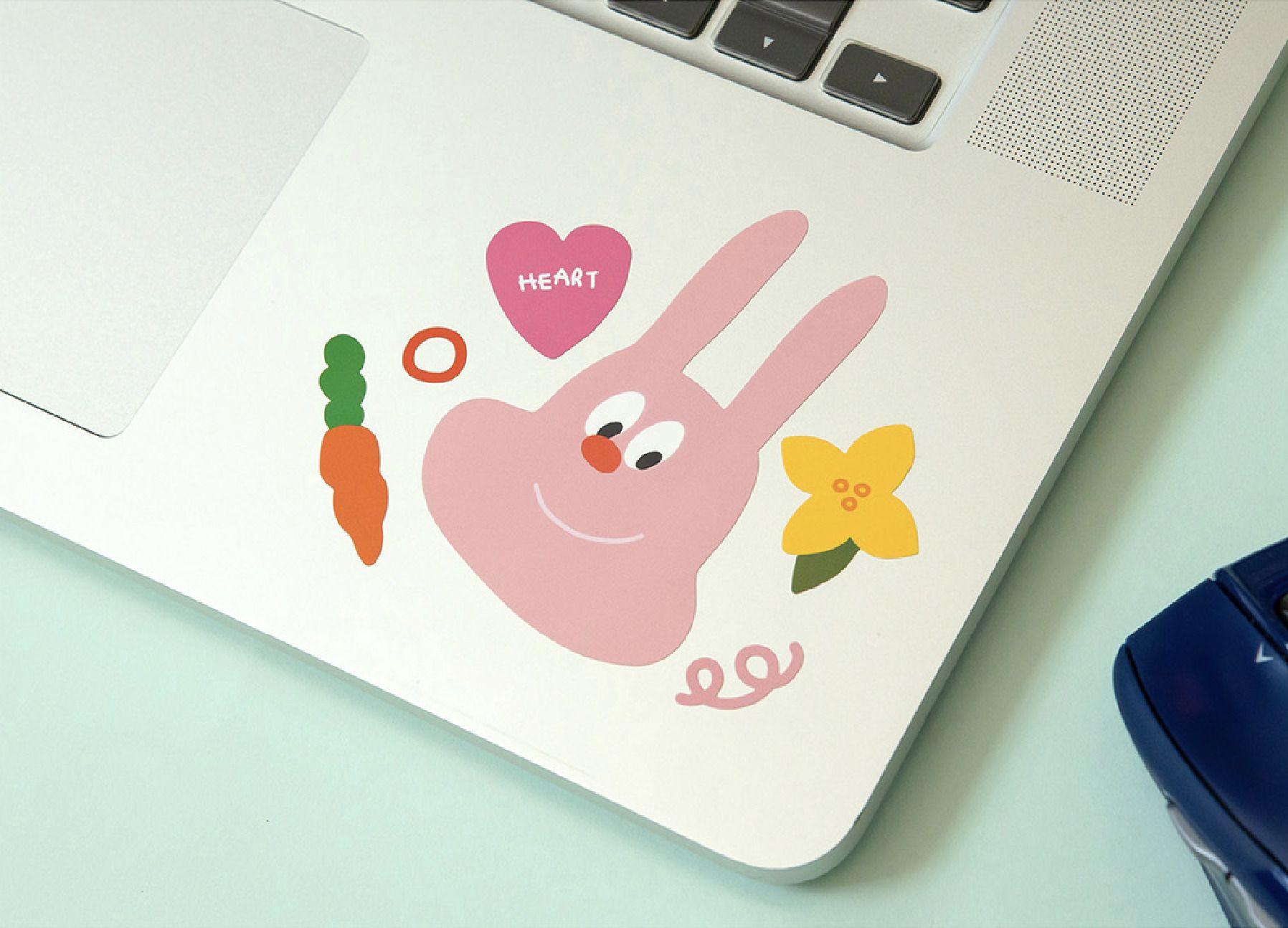Big Friends Removable Sticker