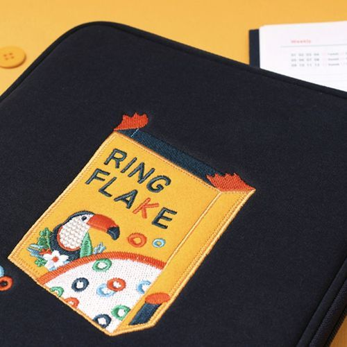 Embroidery Tablet Pouch
