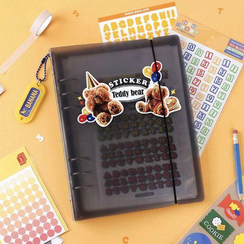Simple 6 Ring A5 Binder & Pocket Set