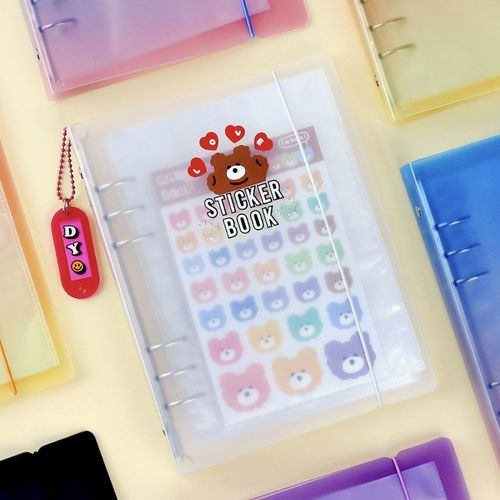 Simple 6 Ring A5 Binder