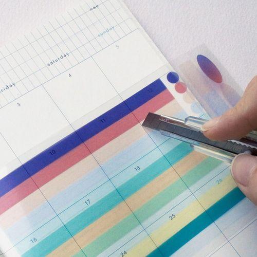 See-through Layer Deco Sticker