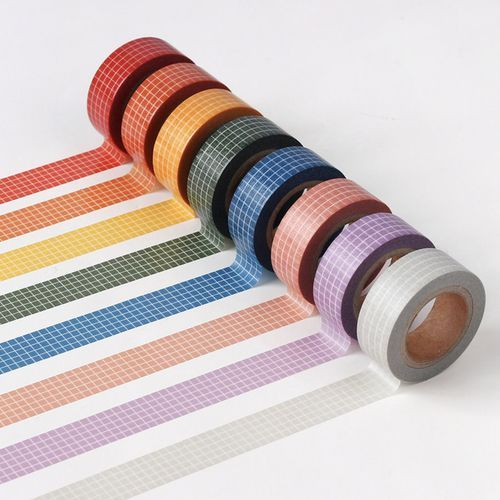 Colorful Check Masking Tape