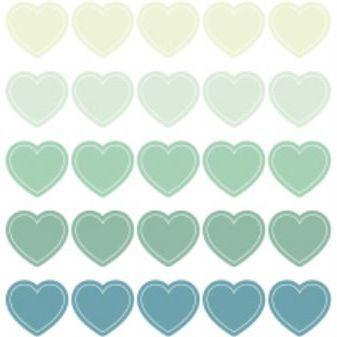 Wannathis Heart Deco Sticker