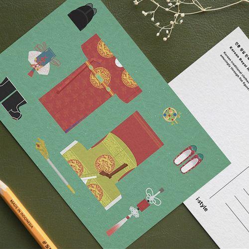 Minhwa Postcard Set v1