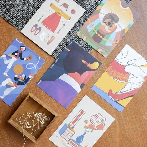 Minhwa Postcard Set v3