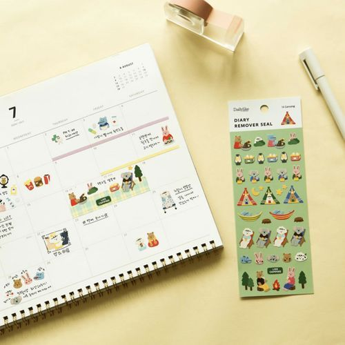 Mini Diary Removable Sticker v3