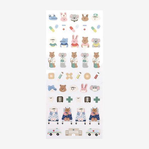 Mini Diary Removable Sticker v3