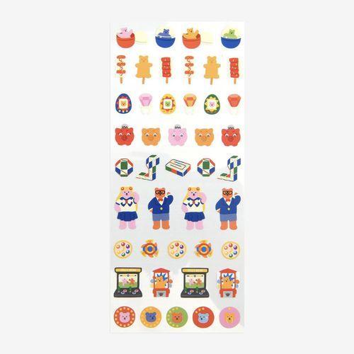 Mini Diary Removable Sticker v4