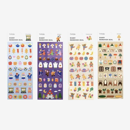 Mini Diary Removable Sticker v4