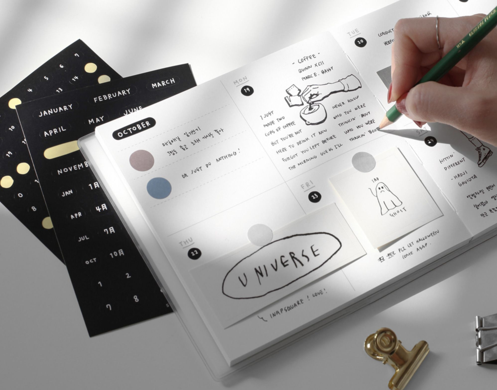 Drawing Days Sticker Set