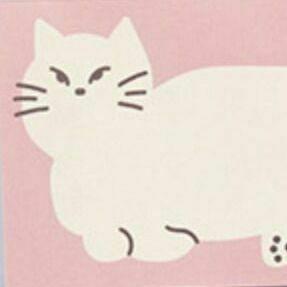 Cozy Cat Memo Pad