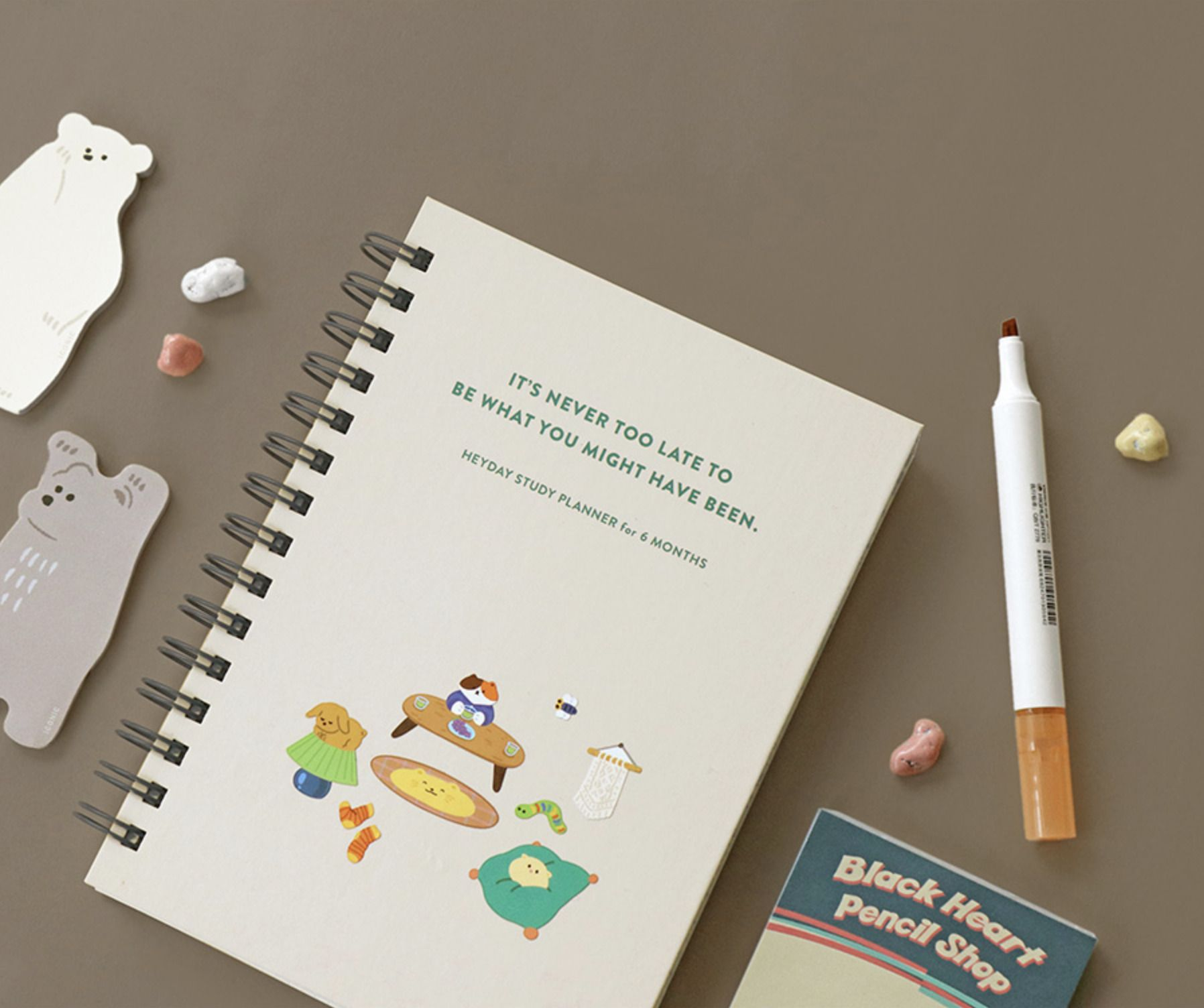 Never Too Late Study Planner