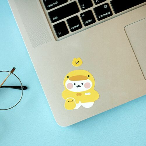 Cat's Daily Life Removable Sticker
