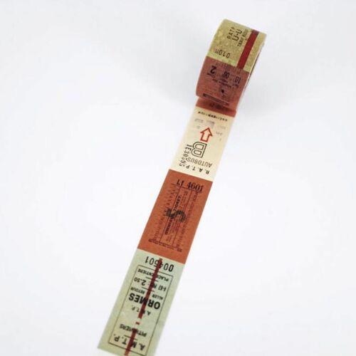 Vintage Ticket Washi Tape