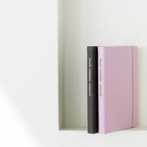 Medium Record Hardcover Lined Notebook
