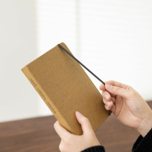 Wide Record Hardcover Lined Notebook