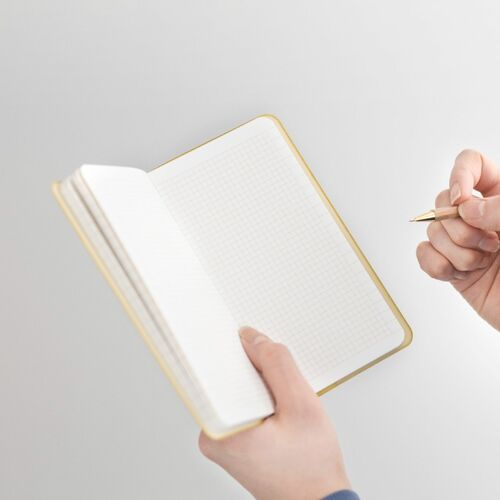 Handy Record Square Grid Notebook