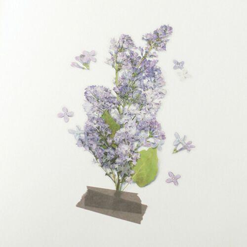 Lilac Pressed Flower Sticker