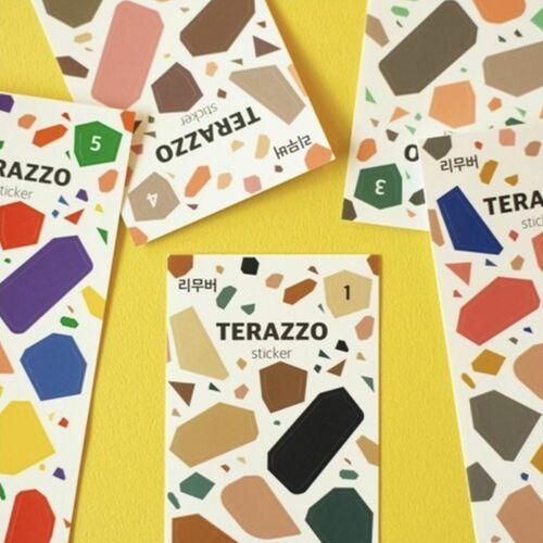 Terrazzo Removable Deco Sticker