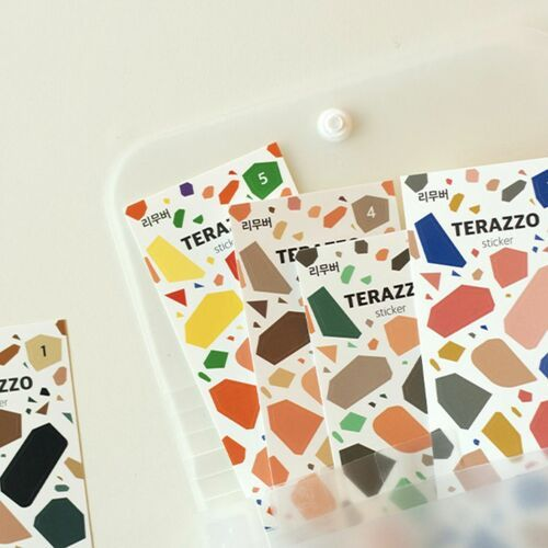 Terrazzo Removable Deco Sticker