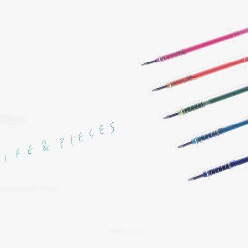 Clear Life & Pieces 0.5mm Ball Point Pen
