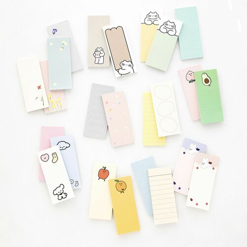 Pastel Livework Slim Sticky Note