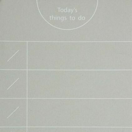 Small Today's Things To Do Memo Pad