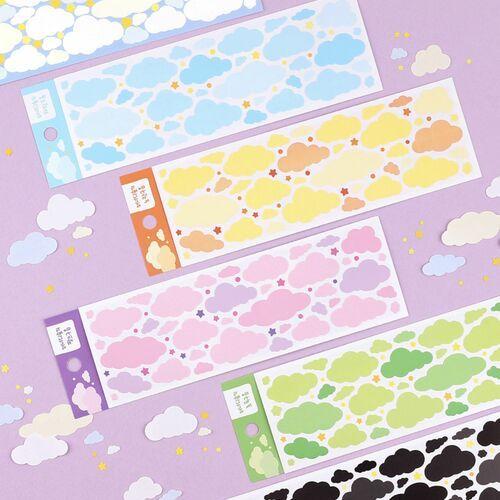 Soft Cloud Deco Sticker