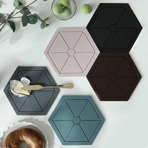 Hexagon Silicone Trivet