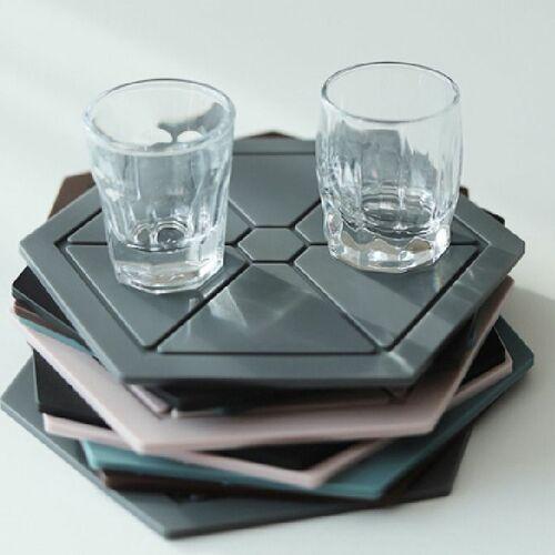 Hexagon Silicone Trivet