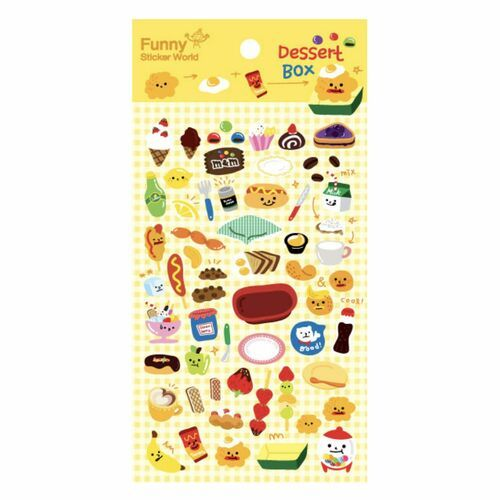 Dessert Box Puffy Sticker