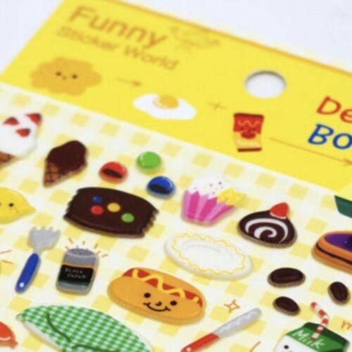 Dessert Box Puffy Sticker