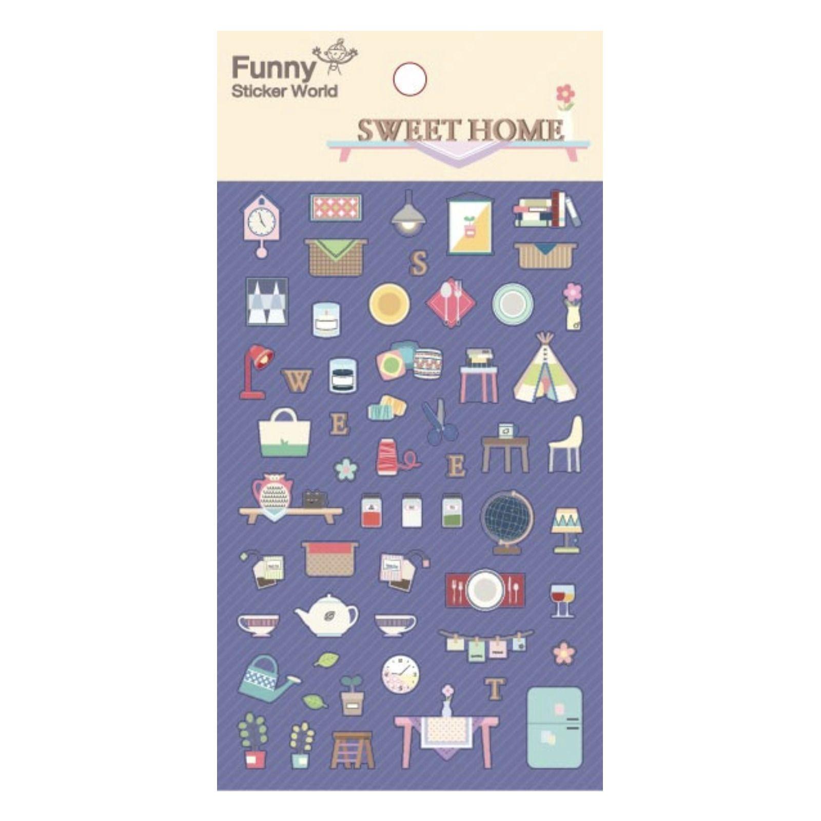 Sweet Home Deco Sticker