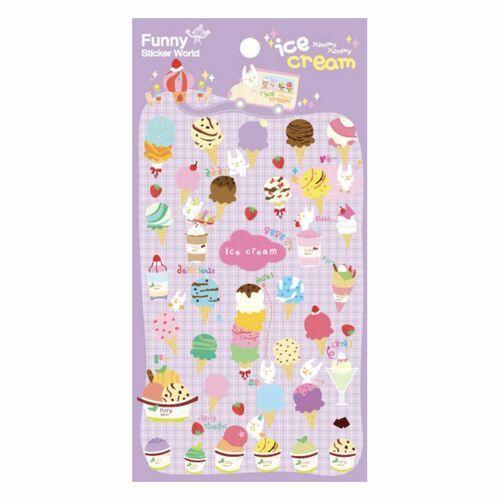 Ice Cream Deco Sticker v3